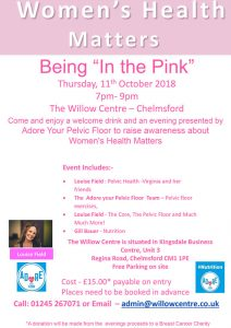 Womens Health: Being In the Pink