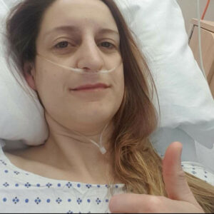 Louise Ross in Hospital